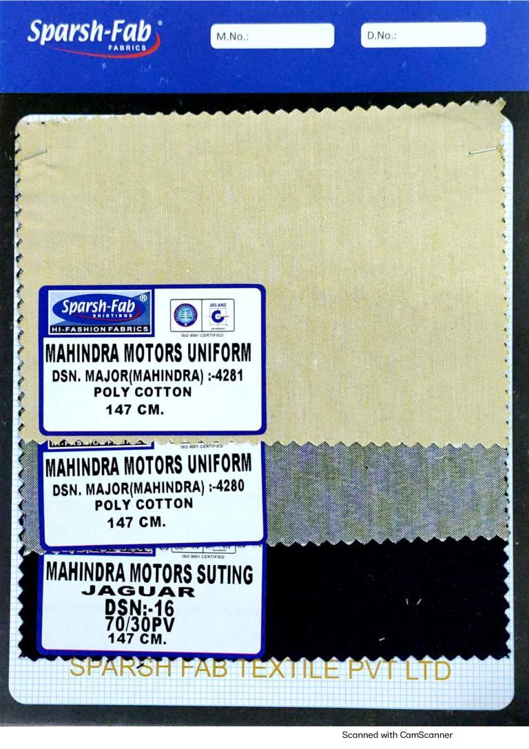 Mahindra motors uniform in India