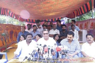 Nadigar Sangam E C Press Meeting Photos