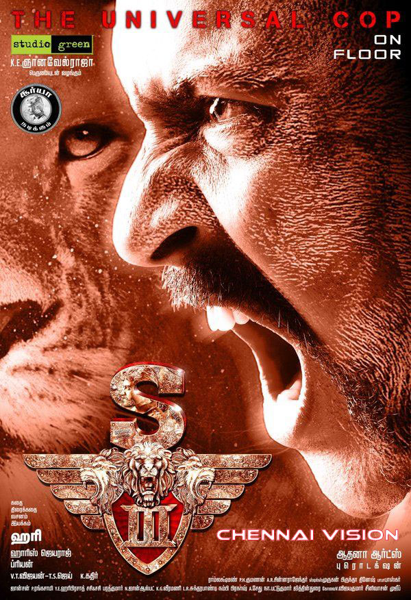 Singam 3 First Look Posters by Chennaivision
