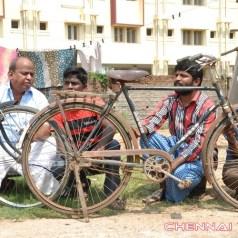 Yaanai Mel Kuthirai Savaari Movie Working Photos