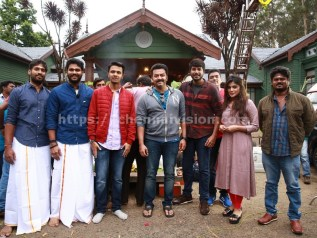 Naragasooran Team Celebrated Aytrha Pooja Photos