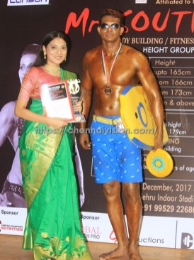 Director Vijay Paramasivam Won Mr. South India 2017 Photos 2