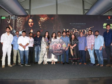 Bhaagamathie Tamil Movie Audio Launch Photos
