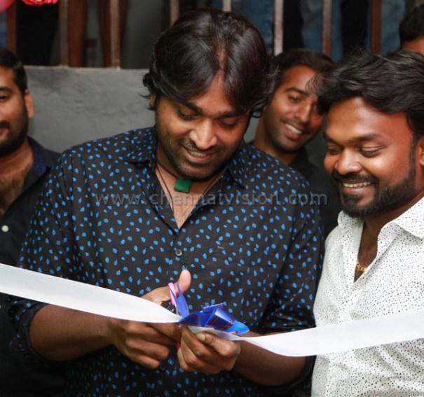 Vijay Sethupathi Inaugurated Chals Dance Studio Photos