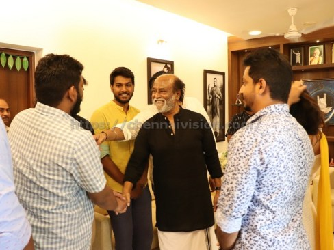 Mercury Team Met Superstar Rajinikanth Stills 1