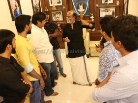 Mercury Team Met Superstar Rajinikanth Stills 4