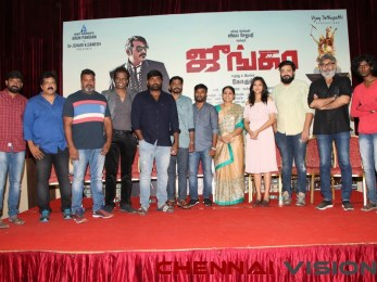 Junga Tamil Movie Press Meet stills