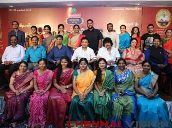 Chennaiyil Thiruvaiyaru Season 14 Press Meet Event Photos