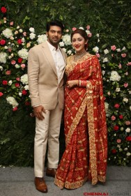Arya - Sayyesha Reception Photos 1
