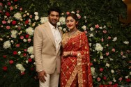 Arya - Sayyesha Reception Photos 11