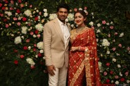 Arya - Sayyesha Reception Photos 12