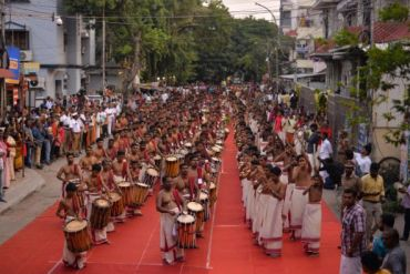 Attempt of Pancharimelam for Guinness Book Of World Record Function Photos