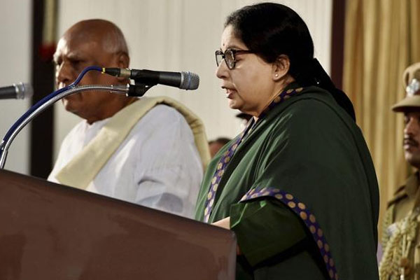 For the sixth time, Jaya to become CM of TN