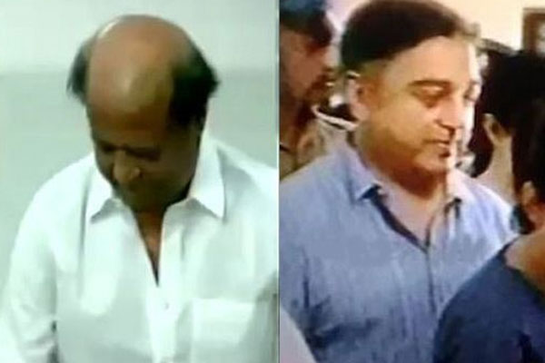 Rajini, Kamal, Ajith cast votes