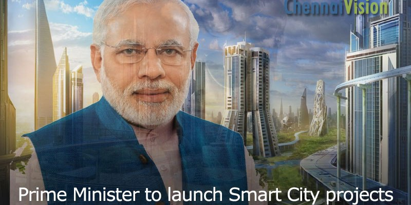 Prime Minister Shri Narendra Modi to launch Smart City projects