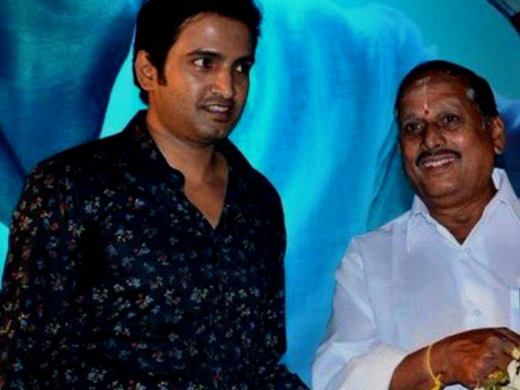 Actor Santhanam's father passes away