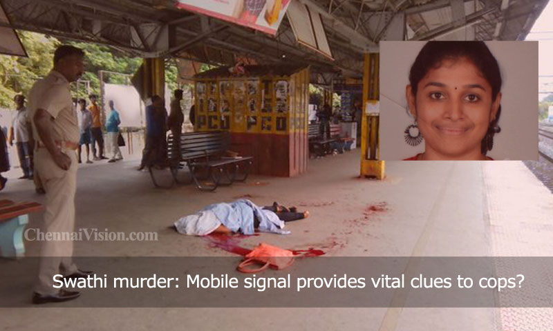 Swathi murder: Mobile signal provides vital clues to cops?