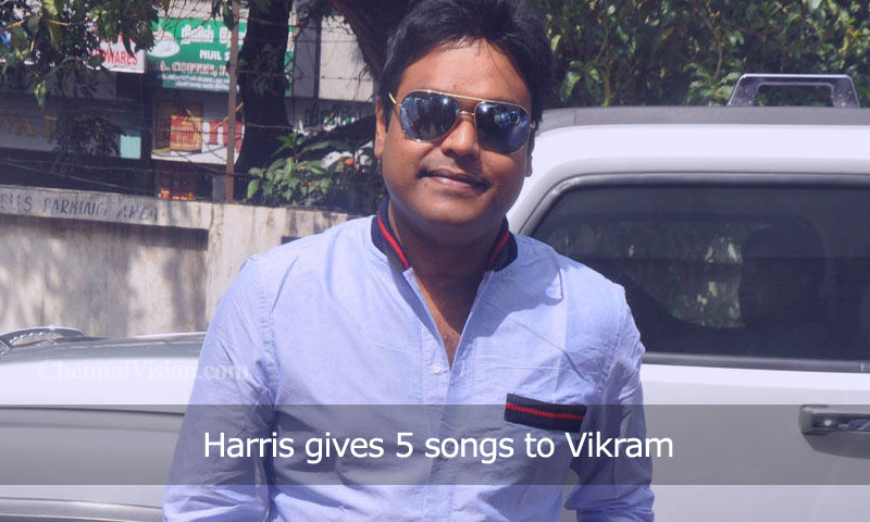 Harris gives 5 songs to Vikram