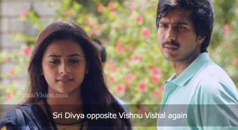 Sri Divya opposite Vishnu Vishal again
