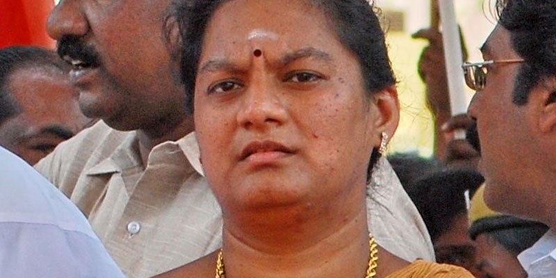Court gives relief to Sasikala Pushpa