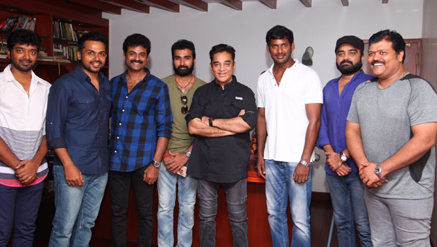 Kollywood meets, greets Kamal