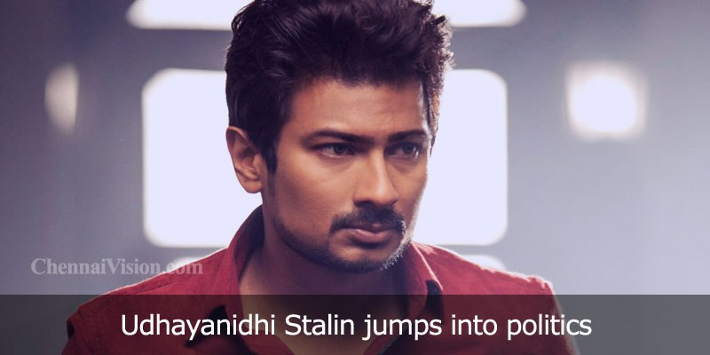 Udhayanidhi Stalin jumps into politics