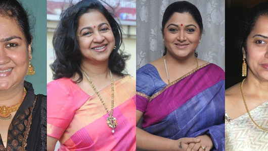 Khushbu, Urvasi, Suhasini, Radhika come together