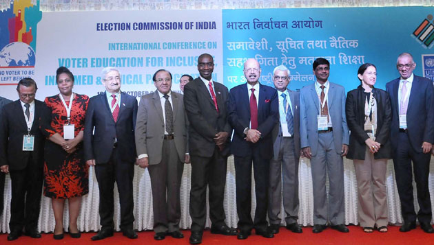Dr. Nasim Zaidi calls upon participating Election Management Bodies to forge a Sustainable Partnership