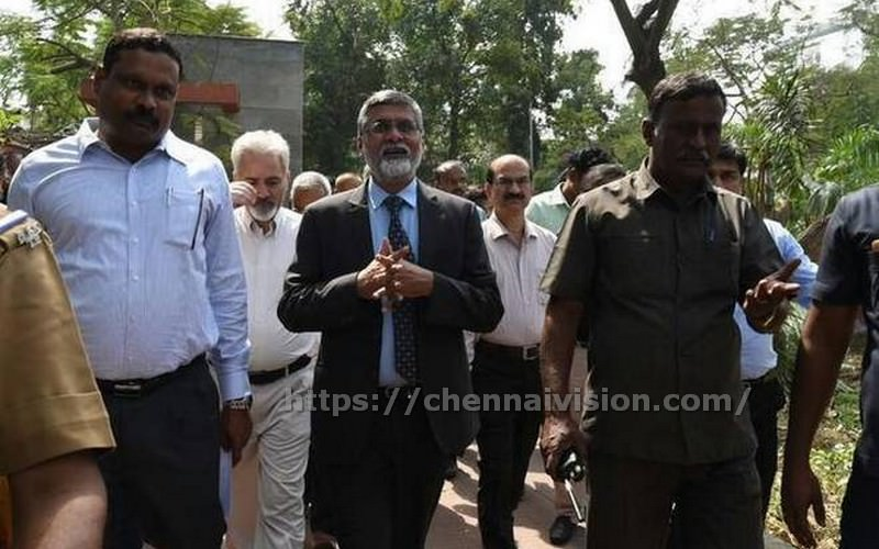 Central team meets CM visits cyclone hit areas