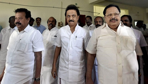 Jallikattu row echoes in Assembly DMK walks out, CM says anti-socials entered protest