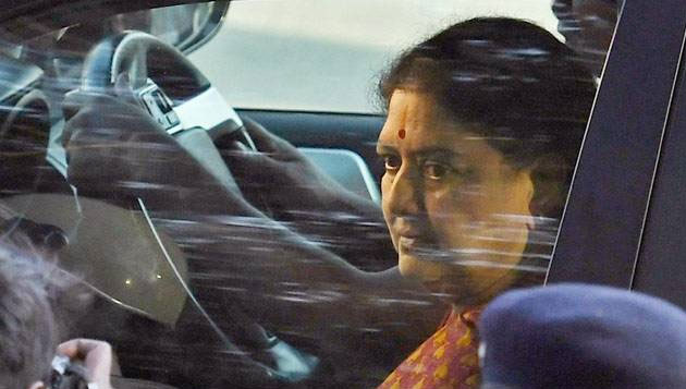 Sasikala in jail, special facilities denied