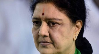 Sasikala refuses to take food in jail
