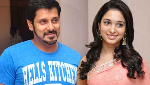 Vikram starts shooting with Tamannah
