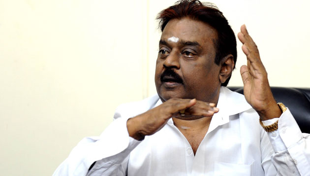 Vijayakanth hospitalised, DMDK says routine check-up