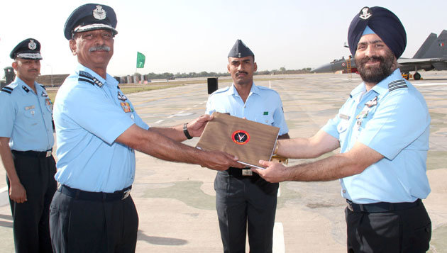 Induction Ceremony of SU 30 MKI to the Valiants