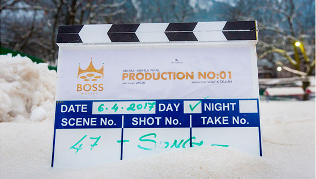 The shooting of Sibiraj, Nikhila Vimal's next untitled project kick started in Kashmir