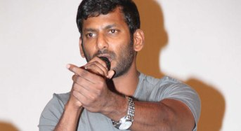 Vishal announces strike from May 30