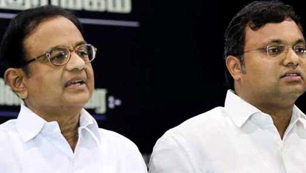 CBI raids at Chidambaram, Karti houses