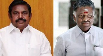 Edappadi's or OPS': Whose function Modi will attend?