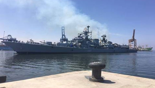 Indian Warships visit Alexandria, Egypt