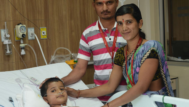 Reliance foundation hospital makes another kid with critical heart ailment smile
