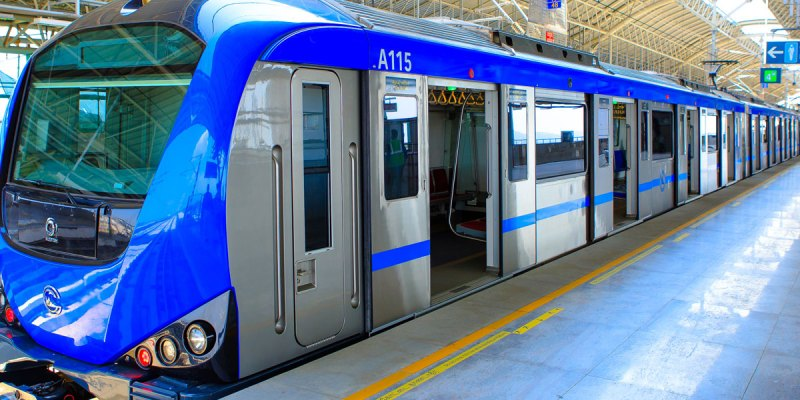 Metro Rail service starts between Thirumangalam-Nehru Park, 40% discount in ticket fares