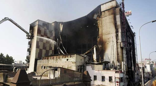 Chennai Silks fire put off, building to be demolished in 3 days