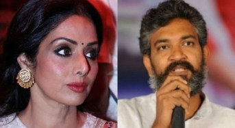 Sridevi upset with Rajamouli