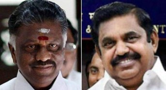 OPS, EPS teams in Delhi over AIADMK, TN issues