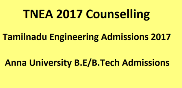 TN engg counselling from July 17