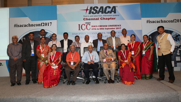 Isaca Chennai Conference held on 7th sep to 9th sep