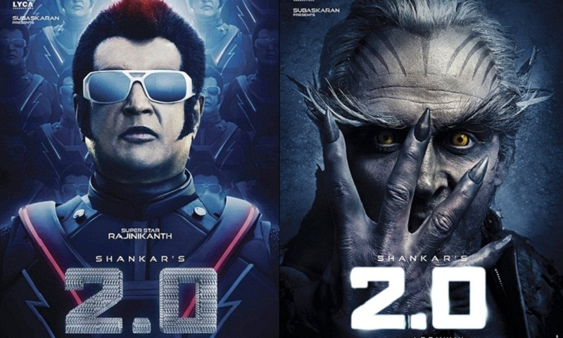 Rajini's 2.0 gets big, bigger, biggest