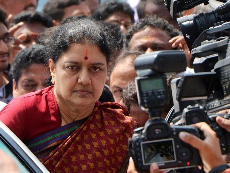 Sasikala to come out on parole to visit ailing husband