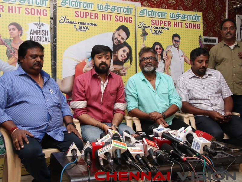 Charlie Chaplin 2 Tamil Movie Press Meet Photos 13